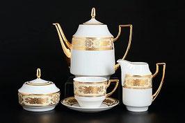 Чайный сервиз МАРИЯ ЛУИЗА КРЕМОВАЯ THUN на 6 персон 15 предметов