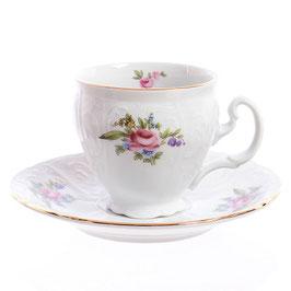 Набор для кофе  ПОЛЕВОЙ ЦВЕТОК Bernadotte на 6 персон 12 предметов