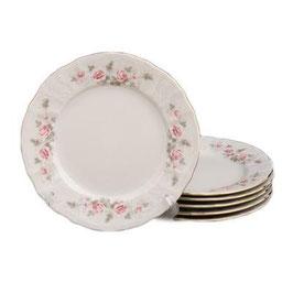 Набор постановочных тарелок РОЗА СЕРАЯ Bernadotte 25 см