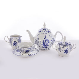 Чайный сервиз СИНИЙ Bernadotte на 12 персон 41 предмет