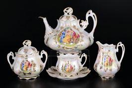 Чайный сервиз МАДОННА Queens Crown на 6 персон 15 предметов