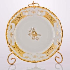 Набор десертных тарелок Weimar КЛЕНОВЫЙ ЛИСТ БЕЛЫЙ 15 см ( артикул МН 5709 В )