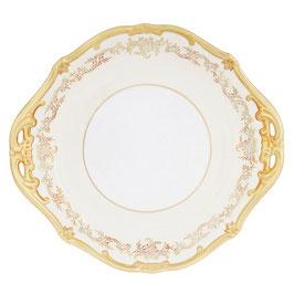 Блюдо круглое с ручками Weimar ЮВЕЛ Кремовый 28 см ( артикул МН 54842 В )