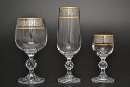 Набор питьевой  КЛАУДИЯ Bohemia Crystal 18 предметов