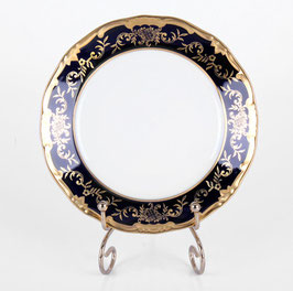 Набор закусочных тарелок Weimar ЮВЕЛ СИНИЙ 19 см ( артикул МН 273 В )
