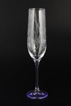 Набор фужеров FIOLET Bohemia Crystal 190 мл