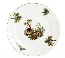 Набор закусочных тарелок ОХОТА Bernadotte 21 см