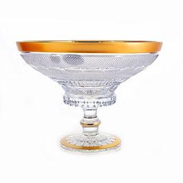 Хрустальная ваза для фруктов Mozer 20,5 см