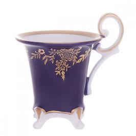Чашка для кофе Weimar ЮВЕЛ СИНИЙ ШАТО 100 мл ( артикул МН 57340 В )