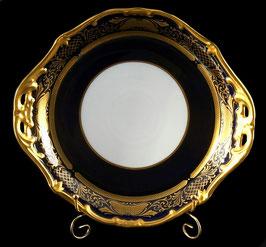 Блюдо круглое Weimar СИМФОНИЯ КОБАЛЬТ 28 см ( артикул МН 5944 В )
