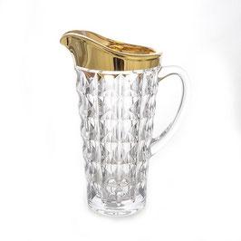 Кувшин  ДИАМАНД GOLD Union Glass 1300 мл