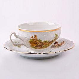 Набор для чая ОХОТА Bernadotte на 6 персон 12 предметов