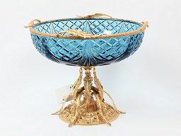 Декоративная ваза для фруктов Rozaperla 24 см