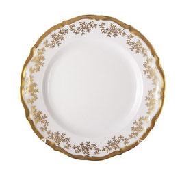 Набор закусочных тарелок МАРИЯ ТЕРЕЗА БЕЛАЯ Bavarian Porcelain 19 см