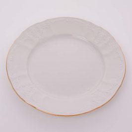 Набор десертных тарелок Bernadotte  ЗОЛОТОЙ ОБОДОК 17 см
