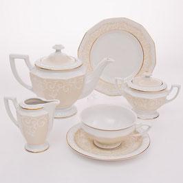 Немецкий чайный сервиз Rosenthal МАРИЯ на 6 персон 21 предмет ( артикул МН 11152 В )