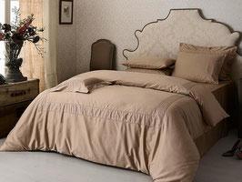 Постельное Белье VALERON SATIN JACQUARD 2 спальное SOLANGE бежевый