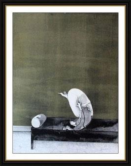 Farblithographie von Paul Wunderlich