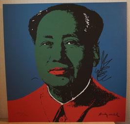 """"""" Mao Zedong """" von Andy Warhol"""