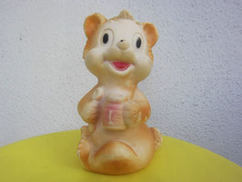 sold out> ソフト・ビニール製 クマ人形 no.1761a