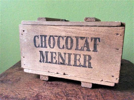sold out> Chocolat Menier オルゴール木箱 no.2492