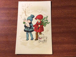 sold out> クリスマス絵葉書 no.1349d