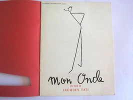 sold out> ジャック・タチ映画<mon oncle> リーフレット no.1114