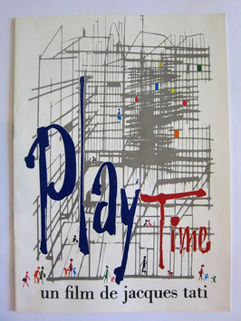 sold out> Jacques Tati 映画<Play Time>カタログ no.1546
