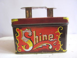 sold out> <Shine>靴磨きティン缶 no.755