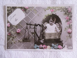 sold out>  Baby 誕生カード  no.2539n