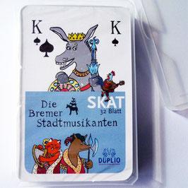 """Skatspiel """"Stadtmusikanten"""""""