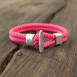 "Armband Segelseil ""pink"""