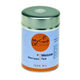 Weißer Tee +Melisse