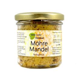 Brotaufstrich Möhre-Mandel