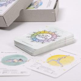 "Kartenspiel ""Das Yoga-Quartett"""