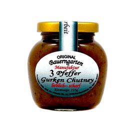 Chutney 3 Pfeffer Gurken