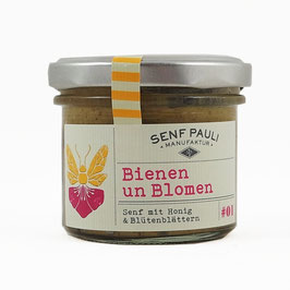 "Senf Pauli  Honigsenf ""Bienen un Blomen"""