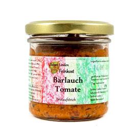 Brotaufstrich Bärlauch-Tomate