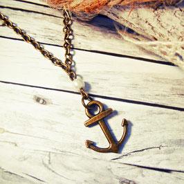 "Halskette ""Ahoi marine"""