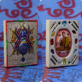 Batch KS13/01 Spider Amulet with Kruba Locket