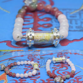 R30 . Roll butterfly Amulet  Bracelet