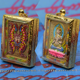 B141/02 . Butterfly with Phra Shiva