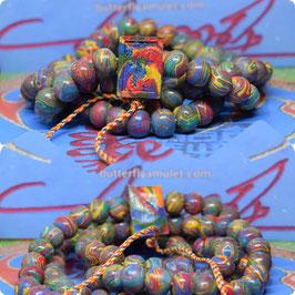 KM67/01 , 108 Temple Bead Necklace