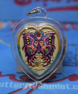 TF 17/01.  Waterproof Heart Amulet (red)