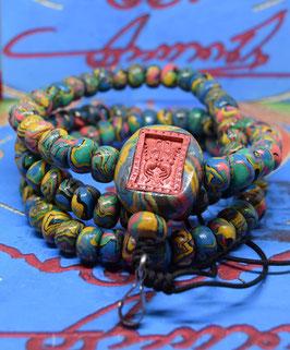 Batch D16/02 .  Temple Powder Bead Necklace