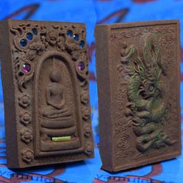 S47   Somdej with Dragon Loy Krathong Amulet