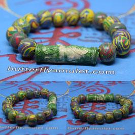 R33 . Benjarong Powder Amulet  Bracelet