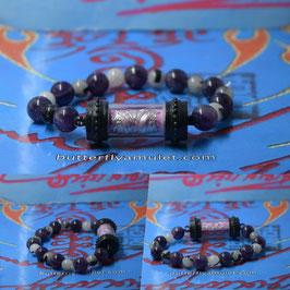 R28 . Roll butterfly Amulet  Bracelet
