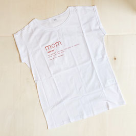 T-Shirt MOM Rot von Whatelse