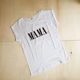 T-Shirt MAMA Aubergine von Whatelse